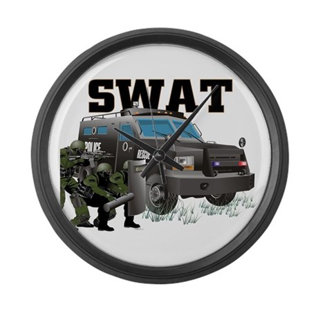 Tactical Vehicle Large Wall Clock