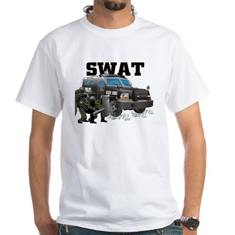 Tactical Vehicle White T-Shirt