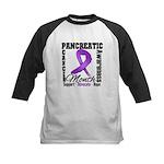 Pancreatic Cancer Month Kids Baseball Jersey