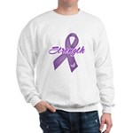 Strength Pancreatic Cancer Sweatshirt