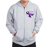 AwarenessPancreaticCancer Zip Hoodie
