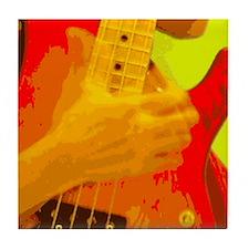 Slap Bass Guitar Funk (FUNKYCHOPS.COM) Tile Coaste