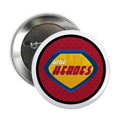 """Superhero Badge 2.25"""" Button"""
