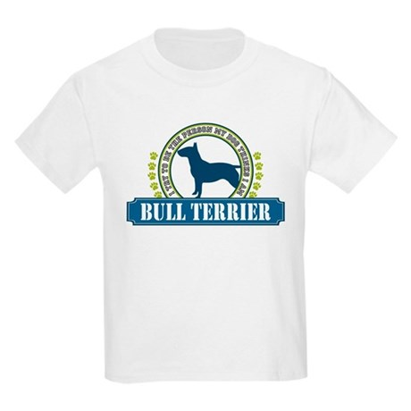 Bull Terrier Kids Light T-Shirt