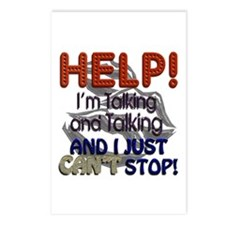 I Can't Stop Talking Postcards (Package of 8)