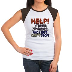 I Can't Stop Talking Women's Cap Sleeve T-Shirt