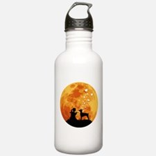 Doberman Pinscher Sports Water Bottle
