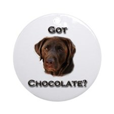 Got Chocolate? Ornament (Round)