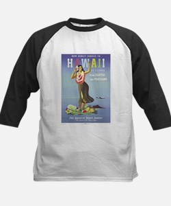 'Hawaii By Clipper' Panam Poster Tee