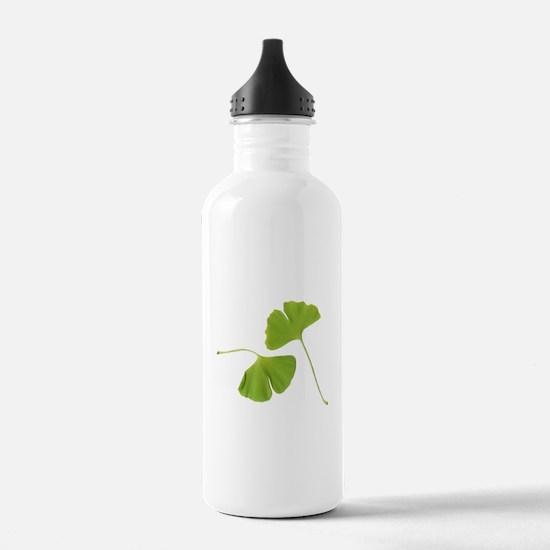Ginkgo Biloba Leaves Water Bottle