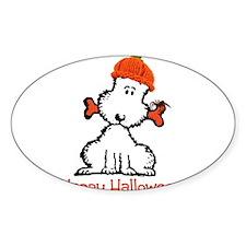 Dog Halloween Decal