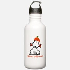 Dog Halloween Water Bottle