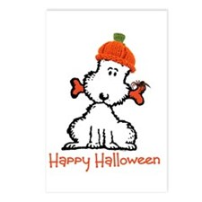 Dog Halloween Postcards (Package of 8)