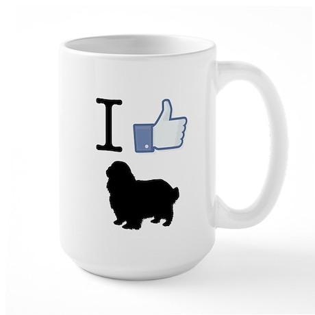 English Toy Spaniel Large Mug