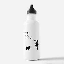 Coton de Tulear Sports Water Bottle