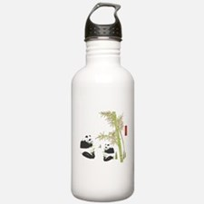Panda Bamboo Water Bottle