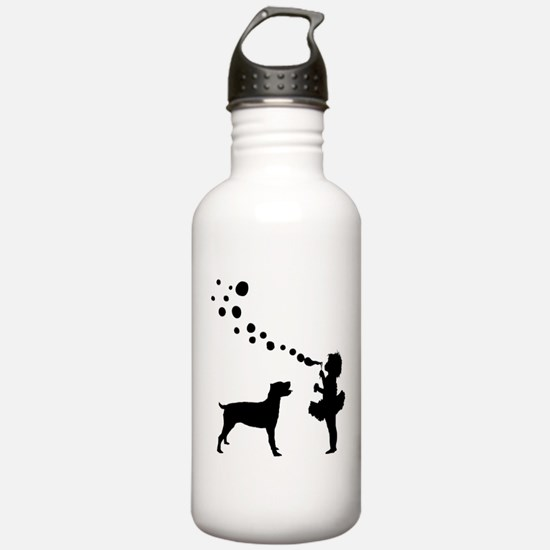 Cane Corso Sports Water Bottle