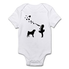 Chinese Shar-Pei Infant Bodysuit