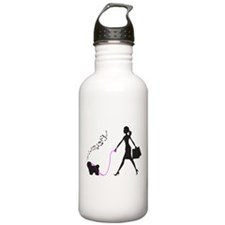 Coton de Tulear Sports Water Bottle
