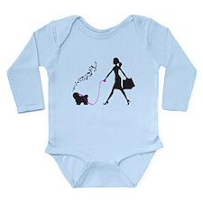 Coton de Tulear Long Sleeve Infant Bodysuit