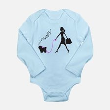 Coton de Tulear Long Sleeve Infant Bodysuit