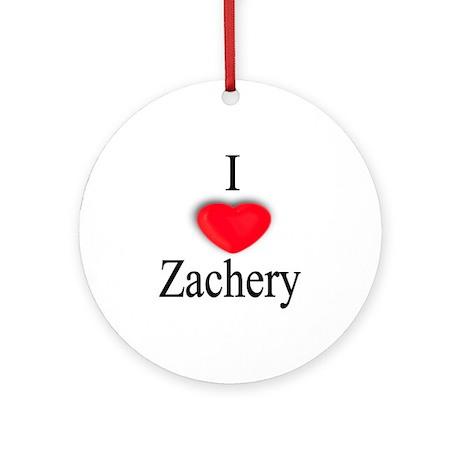 Zachery Ornament (Round)
