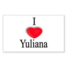 Yuliana Rectangle Decal
