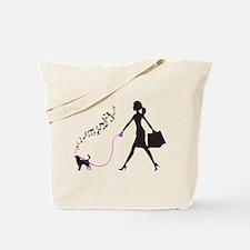 Chihuahua Smoothcoated Tote Bag