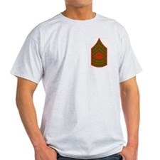 Master Sergeant<BR> Ash Grey T-Shirt