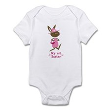Baby Girl's First Easter Infant Bodysuit