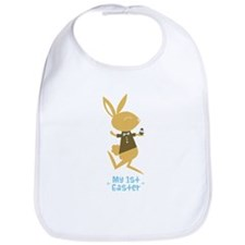 Baby Boy's First Easter Bunny Bib