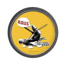 Princess Bride R.O.U.S. Wall Clock