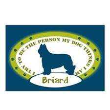 Briard Postcards (Package of 8)