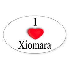 Xiomara Oval Decal