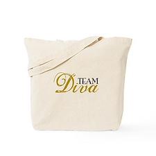 Team Diva Tote Bag