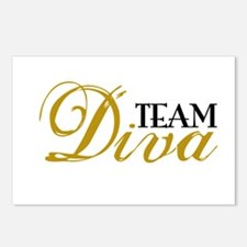 Team Diva Postcards (Package of 8)