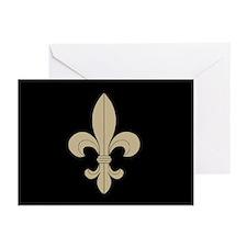 FLEUR DE LIS: Greeting Cards (Pk of 20)