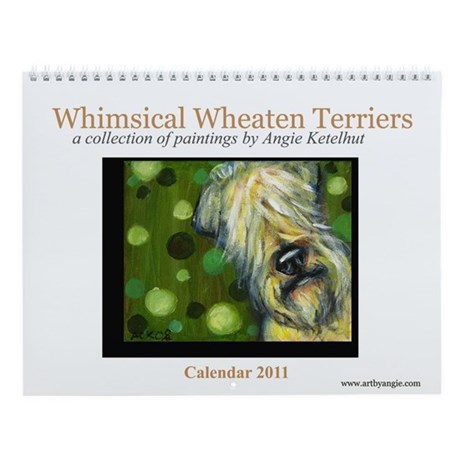 Soft Coated Wheaten Terriers 2011 Wall Calendar