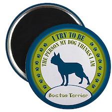 """Boston Terrier 2.25"""" Magnet (10 pack)"""