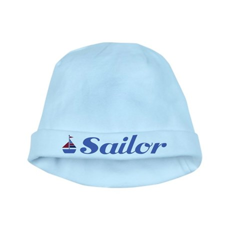 Cute Sailboat Sailor Baby Infant Beanie Hat
