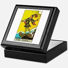 The Fool Tarot Card Keepsake Box