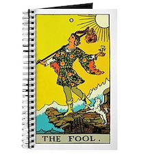 The Fool Tarot Card Journal