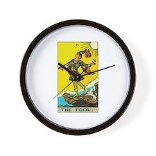 The Fool Tarot Card Wall Clock