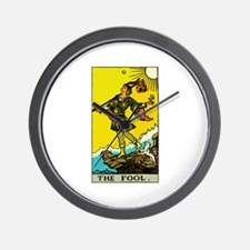 The Fool Tarot Card Wall Clock