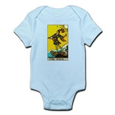 The Fool Tarot Card Infant Bodysuit