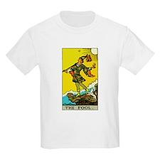 The Fool Tarot Card T-Shirt
