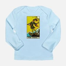 The Fool Tarot Card Long Sleeve Infant T-Shirt