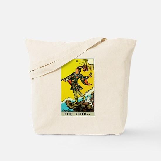 The Fool Tarot Card Tote Bag