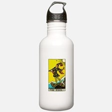 The Fool Tarot Card Water Bottle