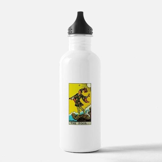 The Fool Tarot Card Water Bottle